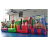 4 in 1 Inflatable Carnival Group Games Inflatable Bull Horn Ring Toss/Basketball Shoot/Pencial Ring Toss And Tik Tac Toe