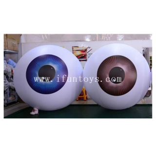 Realistic Inflatable Eyeball /Air Sealed Inflatable PVC Eye Balloon / Inflatable Decorative Eyeball for Party