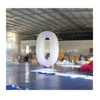 Giant Inflatable Lighted Letter Balloon / Inflatable Number 2 with LED Light for Party