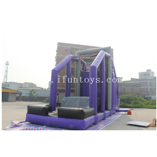 Inflatable Freefall Stunt Jump/ Inflatable Cliff Jump Game / Jump Off Inflatable Sport Game for Kids And Adults